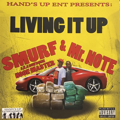 HAND'S UP ENT PRESENTS/LIVING IT UP