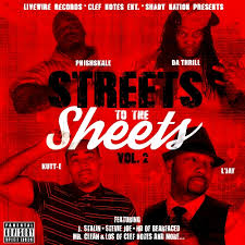 PHISHSKALE,DA THRILL,KUTT-E,L'JAY / STREETS TO THE SHEETS VOL.2
