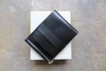 RELAX FIT x VOIRY LEATHER WALLET   BLACK