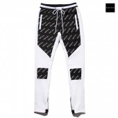 MSTKN SPEED HART ATTACK TRACK PANTS【WHITE×BLACK】