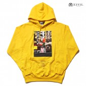 CIVIL CLOTHING PULLOVER HOODIE【YELLOW】