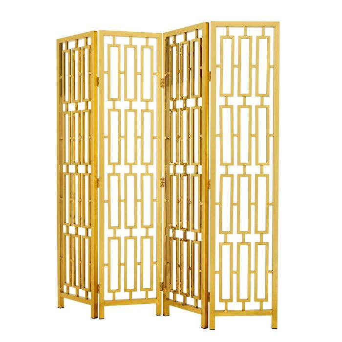 EICHHOLTZ_Folding Screen Davis gold finish
