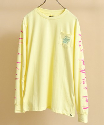 【予約販売】【3月下旬】O.K./オーケー NOT LOCALS ONLY L/S TEE OK181-016LS