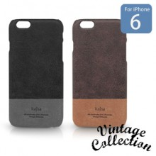 【Kajsa/カイサ】iPhone6/6S Vintage Collection Genuine Leather Back Case for iPhone6 バックケース